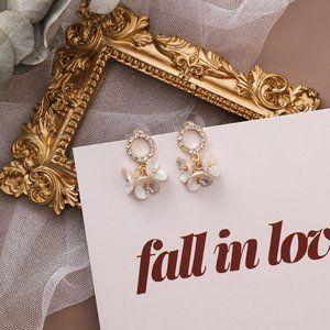 ❤️️NEW UNIQUE Cute Flower Handmade Earrings F27